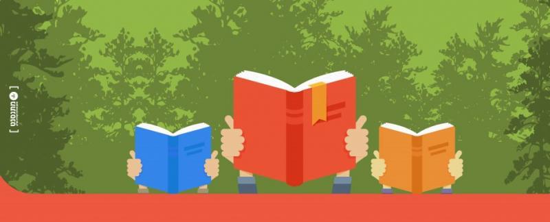 חוגגים את שבוע הספר בחורשה