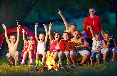 מחנה  ילדים בטבע לגילאי 5 ומעלה