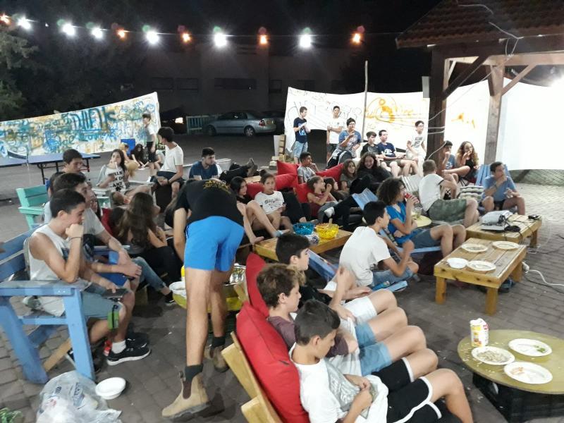 מסיבת פתיחת מתחם הנוער