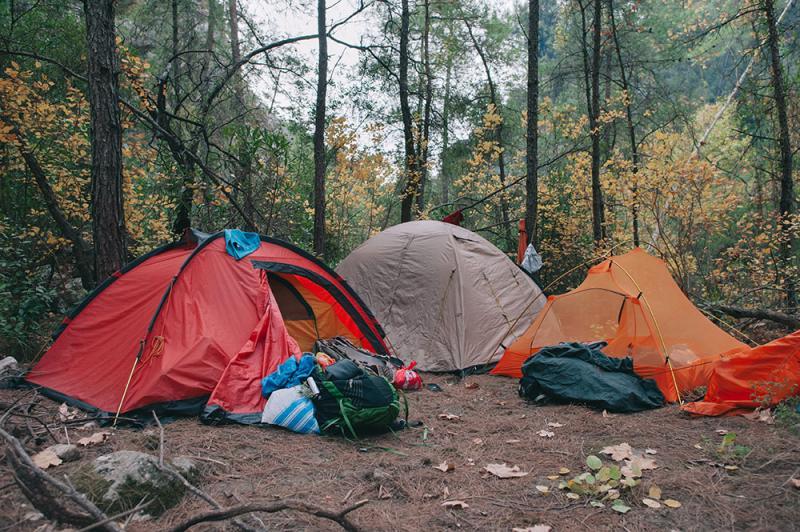 מחנה בטבע
