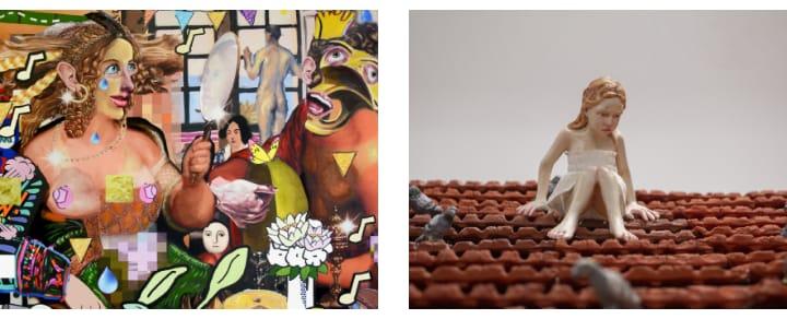 סיור אומנות למקבץ תערוכות במוזיאון הרצליה לאמנות עכשווית